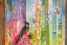 MaryLea Harris Art - Mixed Media