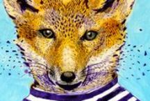 I really like Foxes / by Maree Hall