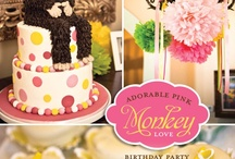 first birthday party. / Ideas for Claire's first birthday... and now Ezra's too! / by What Bounty