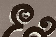 ampersand love / LOVE the ampersand...