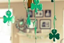 Luck o' the Irish / Everything you need for the luckiest St. Patrick's Day celebration ever. Cute ideas for leprechaun visits to the kids and festive holiday food for your party.