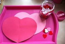 Valentines day / Valentine's Day themed activities, crafts, and things to do