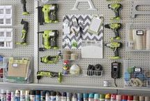 Organize  - Garage / Utility Room / How to organize your garage and utility rooms