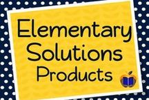 Elementary Solutions TPT Store / Elementary Solutions specializes in Literature Guides and Common Core materials for Grades 3-5 - These products can be found at our TeachersPayTeachers store. / by Elementary Solutions