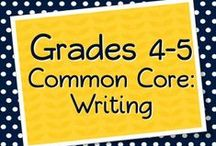 Grades 4-5 Writing / by Elementary Solutions