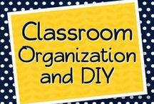 Classroom Organization and DIY Projects / Organizing and DIY classroom projects for teachers / by Elementary Solutions