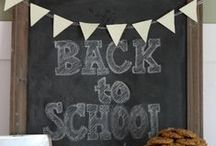 Welcome Back To School / Discover the ABCs and 123s of back-to-school ideas at your fingertips and ready to re-pin! Featuring favorite tips from fantastic bloggers, gratefully sponsored by General Mills cereals. / by Tiffany Dahle