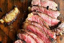 Food: Meat Dishes / Red meat, fish and poutry.