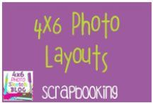 Scrapbooking:  4 X 6 Photo layouts / 4x6 Photo layouts for scrapbooking