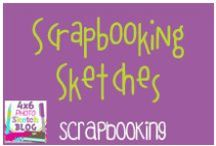 Scrapbooking:  Sketches / Sketches for scrapbooking