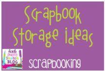 Scrapbooking:  Storage ideas / Scrapbooking storage ideas