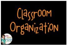 Classroom Organization / Classroom organization in the upper elementary/middle school classroom.