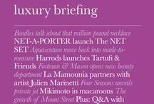 Luxury Briefing / Luxury Briefing is the only business publication for the luxury industry. Providing invaluable monthly coverage of all sectors: fashion, accessories, beauty ...