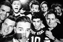 One Band. One Dream. One Direction... <3 / I'm in love with One Direction! Zayn Malik, Louis Tomlinson, Harry Styles, Liam Payne and Niall Horan... <3 / by Lema H. Salah