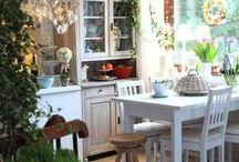 ⊱Home: Kitchen⊰ / The heart of the home. / by Ashley Bullock