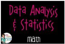 Math:  Data Analysis and Statistics / All things data analysis and statistics