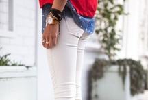Trademark 10: 10 Ways to Wear White Denim / The Trademark 10. Ten ways to wear that troublesome new wardrobe item or stale closet staple.