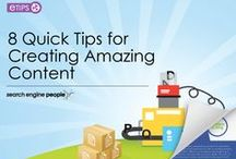 Content / Content is king. Tips & tricks for creating & optimizing digital content.