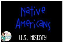 US History - Native Americans / Everything to do with Native Americans in North America
