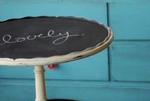 Chalkboard Paint for Home / DIY with MagnaMagic from Visual Magnetics, the inventors of magnetic paint, and manufacturers of magnetic chalkboard and chalkboard paint!
