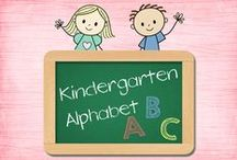 "Kindergarten Alphabet / This is a collaborative board to share activities strictly related to LEARNING ALPHABET LETTERS.  If you would like to be invited to contribute, please leave the comment ""invite me"" on one of my posts.  Hopefully we can grow the followers quickly.  Please limit paid items to two per day and pin at a one paid to one free ratio. / by Pam Hyer"