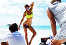 Behind the Scenes / Get behind the scenes access on our summer campaign shoot day. XX  / by Seafolly Australia
