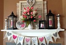 Valentine's Day / Valentine's Day Decorating and Ideas