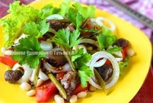 Рецепты салатов (salads) / Авторские салаты от Татьяны М. (salads)