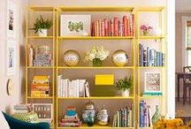 Bookshelves / Love for books and shelves / by Yvette O'Brien