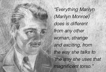 Marilyn Study in pencil
