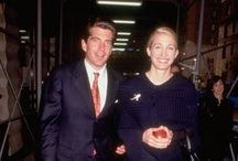 Kennedy-JFK, Jr. & Carolyn Bessette Kennedy / by Dee