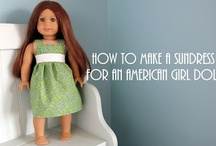 American Girl DIY / DIY Sewing, Patterns and Accessory projects for American Girl or 18 inch dolls.
