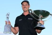 Tournament trophies / One of the great things about golf is the wide variety of gorgeous trophies awarded the winners of big events. Each week in 2013, we will post a photo of the PGA Tour winner and his prize -- and some special ones from other events along the way. / by PGA