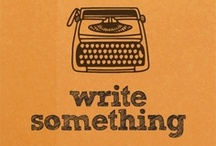Writer's Motivation / by Frida Frag