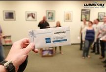 WebiMax Employee Gift Card Drawing / Reason # 570 why WebiMax is an amazing place to work: as part of a profit sharing program by Ken Wisnefski, employees enjoyed a gift card drawing with prizes ranging from $25 to $500! Check out our photos below to see who won big. / by WebiMax