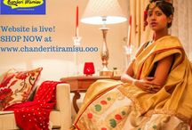 Chanderi Tiramisu: Sarees & Suits / Chic and snazzy sarees and suits designed by my mother under the brand name Chanderi Tiramisu.  To check out prices and buy: www.chanderitiramisu.ooo