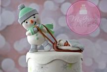 Cake Artist Inspiration: Happy Holidays / by Kasima Brown