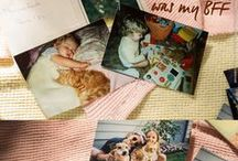 Antique & Vintage Cat Photos / Collecting these as inspiration for a new body of work I want to create! Pets are family!