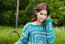 crochetーGranny wearables / by シマリスぐり     simarisu guri