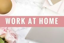 Work at home / Find the best articles and resources about freelancing and work at home. If you want to join, follow me and follow this board; then send me a message with your request