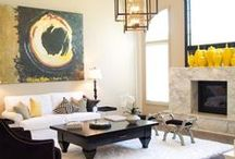 Home Decor / Contemporary home decor with a casual living style