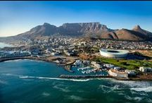 Cape Town / The Mother City - Africa's most cosmopolitan city. Set under iconic Table Mountain and surrounded by beaches, it is hard to beat. This is our home.