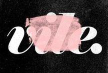 Tipography / by LolaMNaranjo