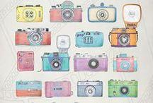 ilustraciones, patrones y colores