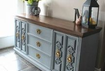 {ChicByTab} / This is the furniture I refinish. Check out my blog at ChicByTab.blogspot.ca