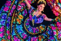Folklorico Dancers / by Elsa Garza Doler