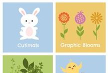 Spring / Bring on the spring! We're talking bouncy, springy, colorful cuteness. Animals, Blossoms, and Leafy Stems. Bouquet for your love? / by PicMonkey