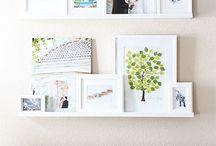 Photo walls / by Katelyn L