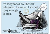FINE.  Sherlock gets its own board. / by Aileen Dingus