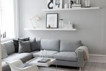 Living Room / My moodboard and inspiration for the hub of the home.